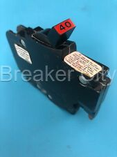 Federal Pacific 40 Amp 1 Pole Circuit Breaker Fpe Type Nc 120v Stab Lok Nc140