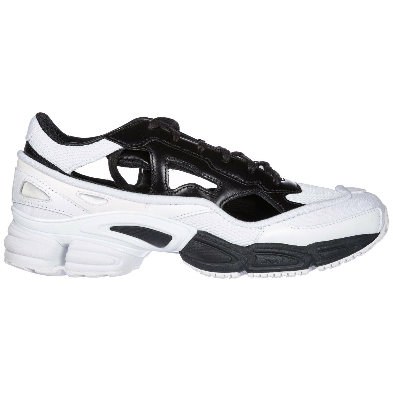 Adidas para hombre Raf Negro/Blanco Simons replicante Ozweego Negro/Blanco Raf BB7988 b0ae88