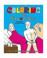 Coloring For Grown-ups: The Adult Activity Book Free Shipping