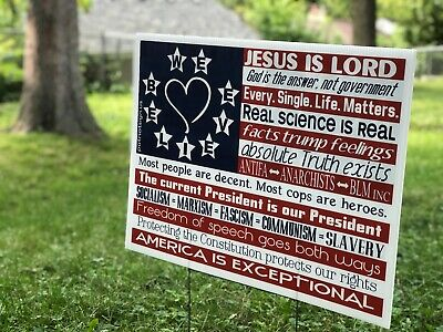 18 x 24 Science is real /& more! Double sided In our home we believe Yard Sign Includes H-stake Love is love Black Lives Matter
