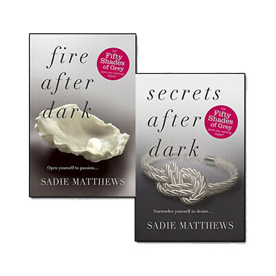 After Dark Series Collection Sadie Matthews 2 Book Set Fir After