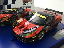 """Carrera Digital 132 30743 FERRARI 458 ITALIA GT2 """"AT Racing,No.56"""" NEU OVP"""