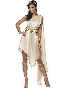 a3467b483d0 Ladies Roman Greek Goddess Fancy Dress Costume All Sizes Large UK 16 ...