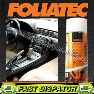 Foliatec Gloss Black Car Interior Dashboard Door Plastic