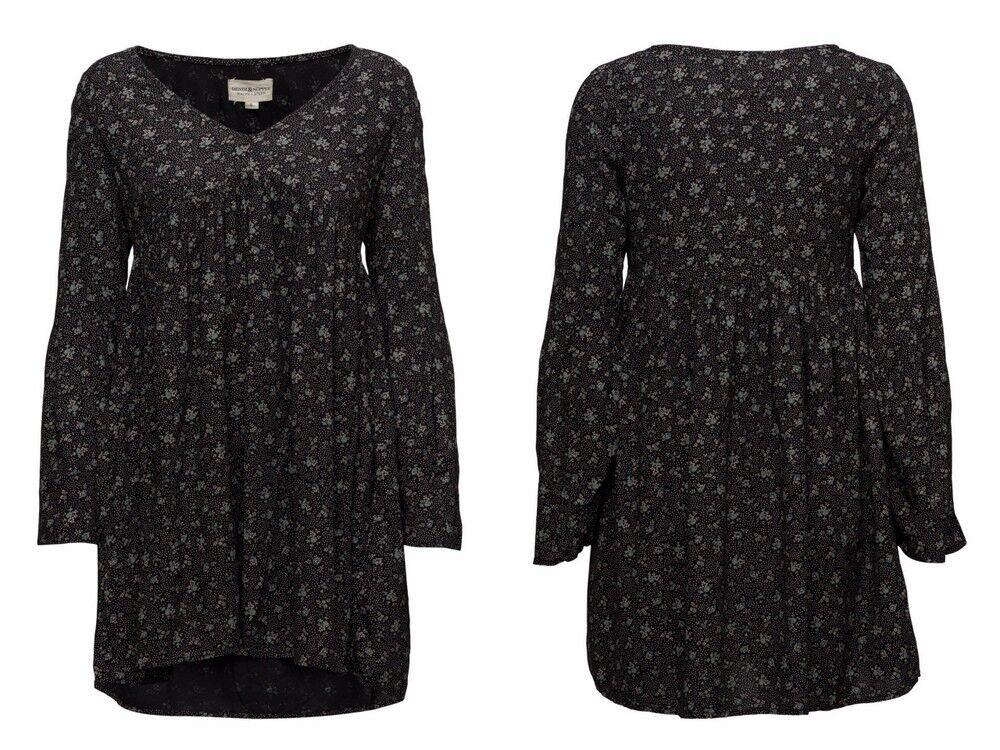 Denim & Supply Ralph Lauren Women's Floral Print Bell-Sleeve Babydoll Dress, XS