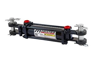 Hydraulic-Cylinder-Tie-Rod-Double-Action-2-034-Bore-12-034-Stroke-2500-PSI-2x12-NEW