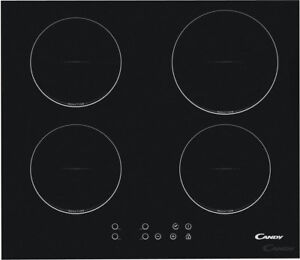 Piano cottura induzione Candy 4 Fuochi incasso elettrico 60 cm Nero ...