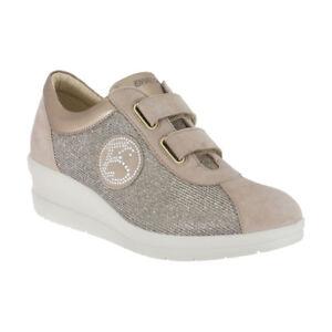 1265522 Scarpe Comode Enval Donna Strap Sneakers Soft Made Con In 2EHI9WDY