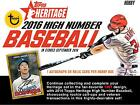 2016 Topps Heritage Hign Number MLB Hobby Edition Factory Sealed 24 Pack Box