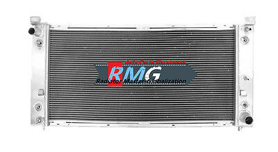 "Aluminum Radiator Fits For 2002-2014  Cadillac Escalade 34/"" Core"