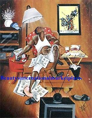 Annie Lee In Control Print African American Art  Liquidation Sale!!