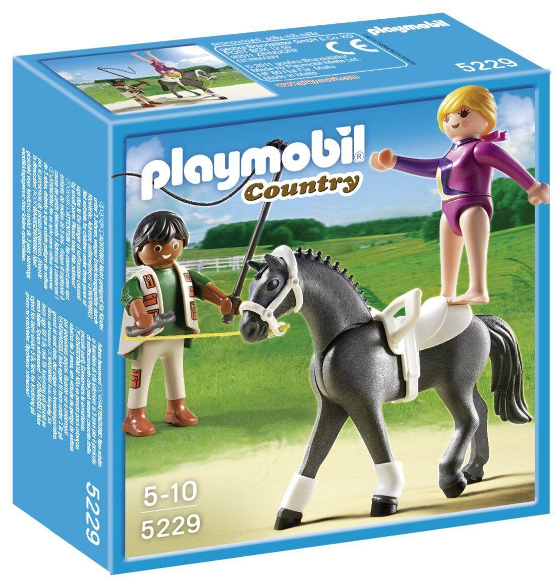 Playmobil - 5229-jeu de construction-trainer  of horses and flitter  le moins cher