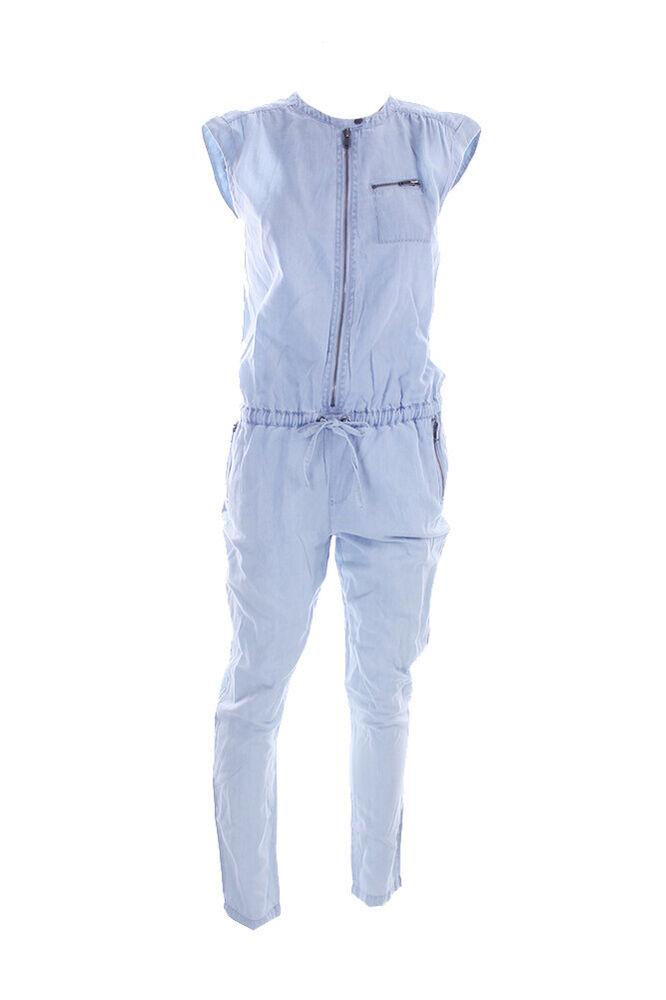 Copieux Kiind De Neuf Bleu Clair Cap-sleeve Combinaison M ArôMe Parfumé