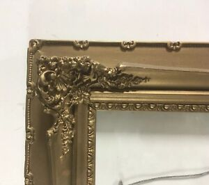 Antique-Victorian-Wood-Gesso-19th-Century-Picture-Frame-Fits-15-1-2-034-x-20-3-4-034