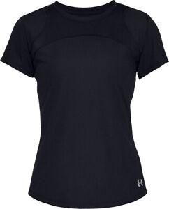 Under Armour UA Women/'s Speed Stride Sport Mesh Short SleeveT-Shirt Tee Small