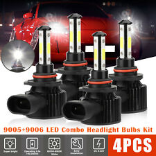 4pcs 90059006 Led Combo Headlight Kit Cree Cob 240w High Amp Low Beam Light Bulbs