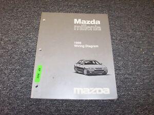 1998 Mazda Millenia Sedan Electrical Wiring Diagram Manual ...