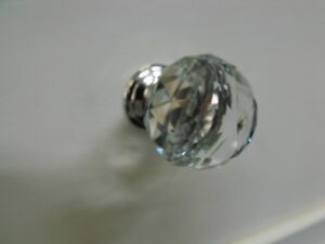 CLEAR-CRYSTAL-DRESSER-BEDSIDE-DRAWER-HANDLE-CABINET-KITCHEN-KNOB-30mmK9