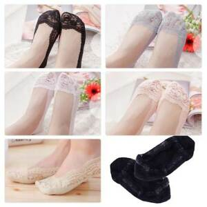 5-Pairs-Women-Lace-Silicone-Antiskid-Invisible-Cotton-No-Show-Low-Cut-Boat-Socks