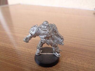 Warhammer 40k Space Marine Ultramarines Tyrannic War Veteran Metal Oop