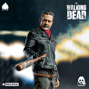 ThreeZero-Negan-The-Walking-Dead-1-6-Action-Figure-IN-STOCK-NEW-amp-OFFICIAL