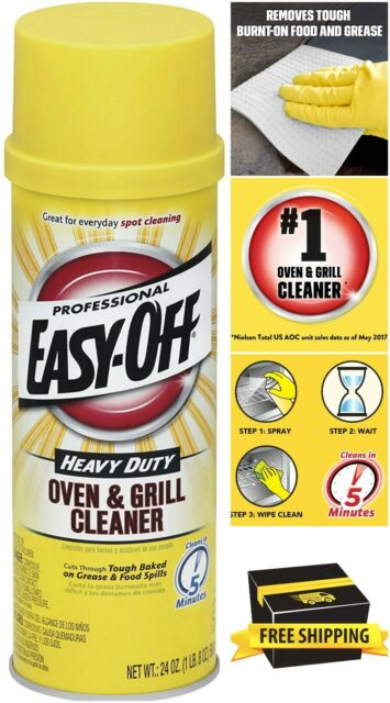 Easy Off Stove Top Cleaner: Easy-Off Professional Oven & Grill Clean Heavy Duty BBQ