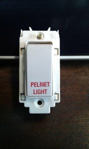 Cantonnière Lighting Volex Grille Switch VG3460 PL 20 AMP DP