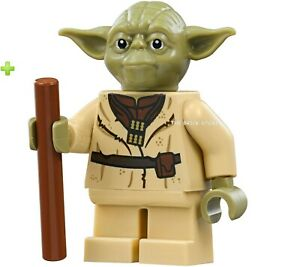 LEGO-STAR-WARS-OLIVE-GREEN-YODA-FIGURE-GIFT-75208-2019-NEW