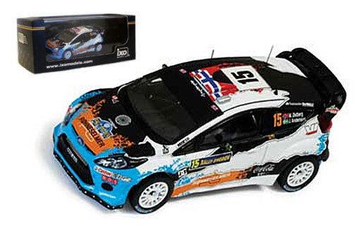 Ixo ram505 FORD FIESTA RS CMR 3rd Rally Svezia 2012-M ostberg scala 1/43