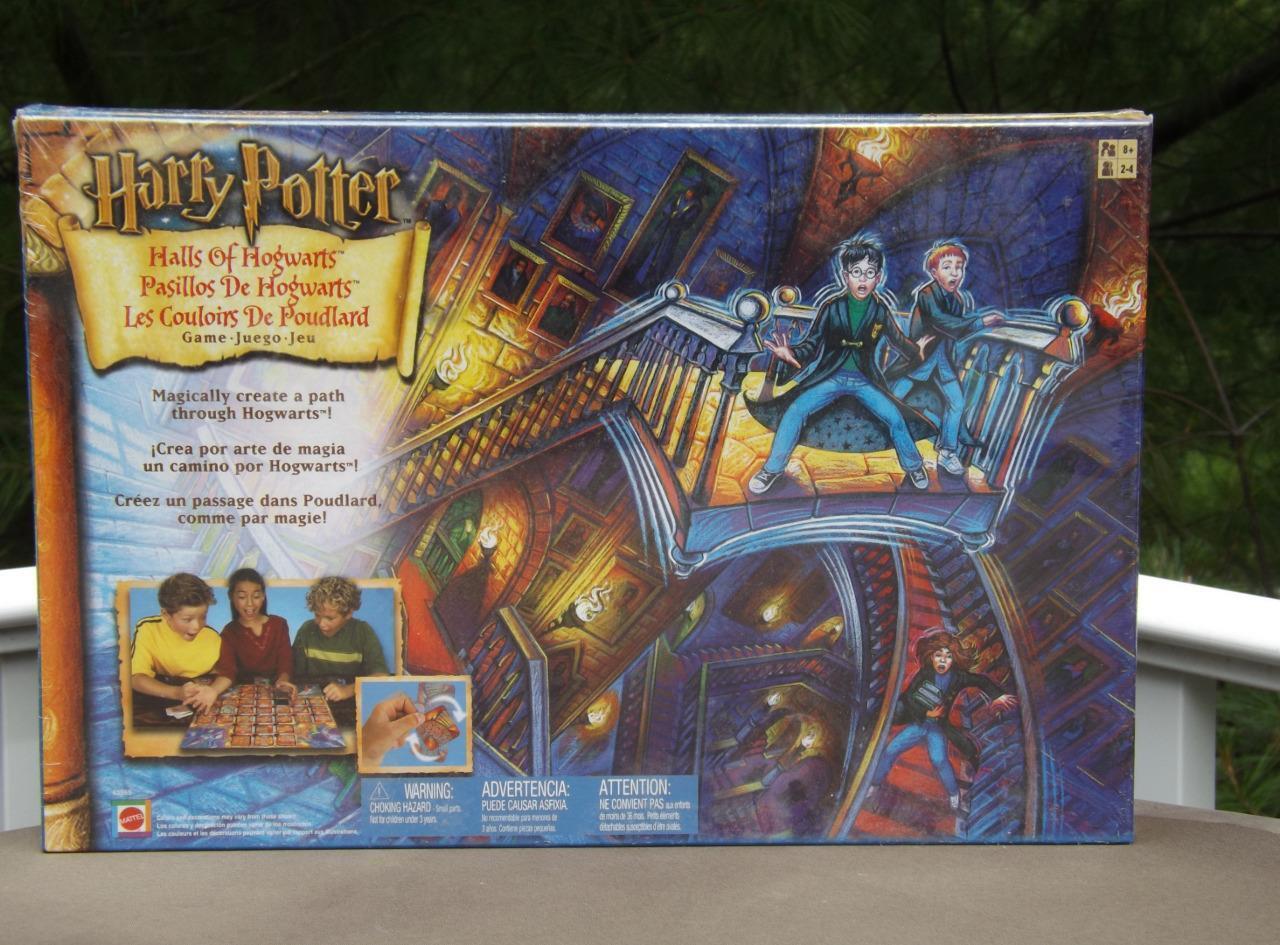 Nuevo En Caja Salas De Hogwarts Harry Potter Juego De Mesa Sellado Mattel