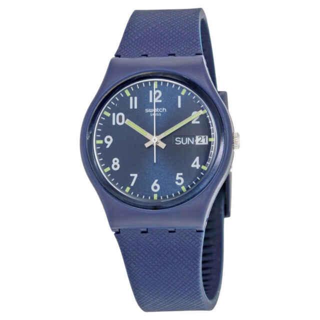4a63be732d8 Swatch Unisex GN718 Originals Navy Blue Watch for sale online