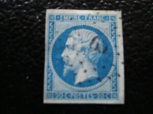 FRANCE-timbre-yvert-et-tellier-n-14B-obl-A6-stamp-french-P