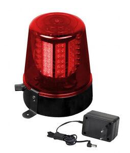 JB Systems LED Polizeilicht 108Leds rot police light Rundumleuchte Warnleuchte
