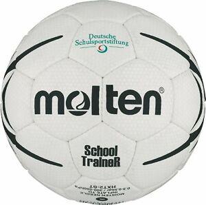 Molten schooltrainer Handball pour le sport scolaire Blanc/Noir Taille 2