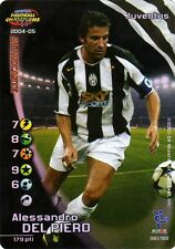 FOOTBALL CHAMPIONS 2004-05 Alessandro Del Piero 061/150 Juventus ITA WIZARD