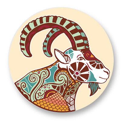 Magnet Aimant Frigo Ø38mm Signe Astrologique Zodiaque Zodiac Horoscope Lion