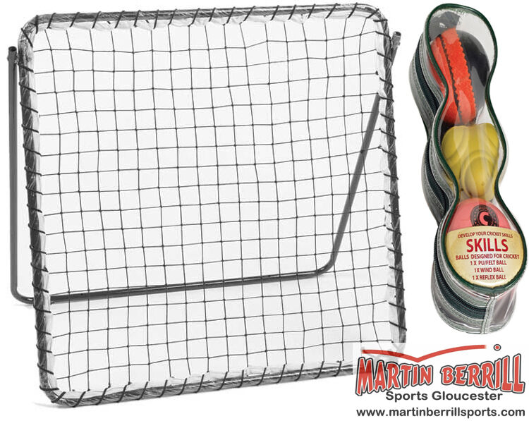 Hunts County Rebound Net with Skill Ball Set