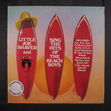 LITTLE JOE SHAVER: Sing The Hits Of The Beach Boys LP (WLP, promo toc, small to