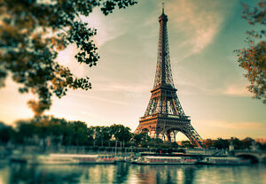 Image Is Loading WALLPAPER MURAL PHOTO Eiffel Tower Paris France WALL