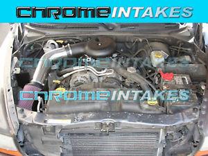 K/&N+RED 97-03 DODGE DAKOTA//DURANGO 3.9L V6 5.2L//5.9 5.9L V8 COLD AIR INTAKE 2F