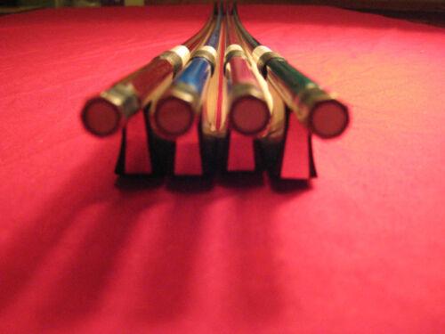 Blue//Purple//Brown//Green Carbon Fiber Violin Bow 3//4