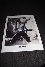 "SYLVESTER STALLONE signed Autogramm auf 20x28 cm ""RAMBO"" Foto InPerson RAR"