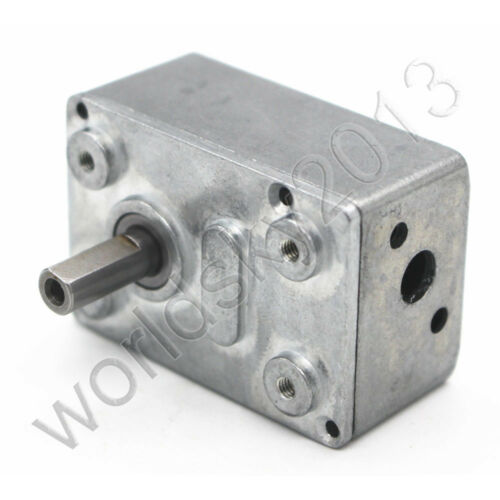 4632 Worm Wheel and Worm Motor Gearbox Motor Full Gear Speed Reduction Reducer