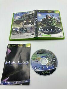 Microsoft-OG-Xbox-getestet-KOMPLETT-CIB-Halo-Combat-Evolved-Schiffe-schnell