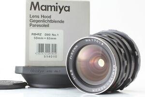 Nuovo-di-zecca-con-cappuccio-MAMIYA-SEKOR-50mm-f-4-5-Wide-Angle-Lens-per-RB67-Giappone-Pro-S-SD