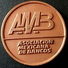 "1992 ASOCIACION MEXICANA DE BANCOS Mexico Medal 31g. NUESTRA NIÑEZ"" Nice!"