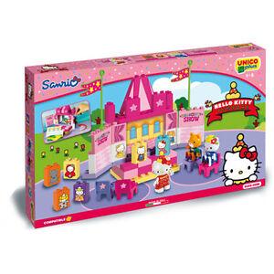 unico plus costruzioni  Unico Plus - Teatro di Hello Kitty - Costruzioni compatibili Lego ...