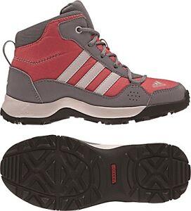 1e6119f11605 Das Bild wird geladen Adidas-Schuhe-Hyper-Hiker-Mid-Stiefel-Outdoor-Kinder-