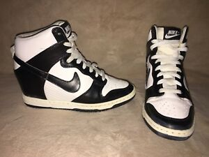 6 white Wedge Hi Sky Sz Nike Dunk Black Hidden qRaTI8pw