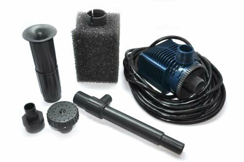 Pentair Lifegard Aquatics Quiet One 2200 Pump and Fountain Kit